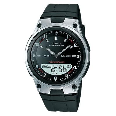 Casio Men's Ana-Digi Databank Watch - Black (AW80-1AV)