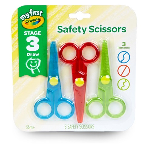Crayola Kid's Safety Scissors 3ct - image 1 of 7