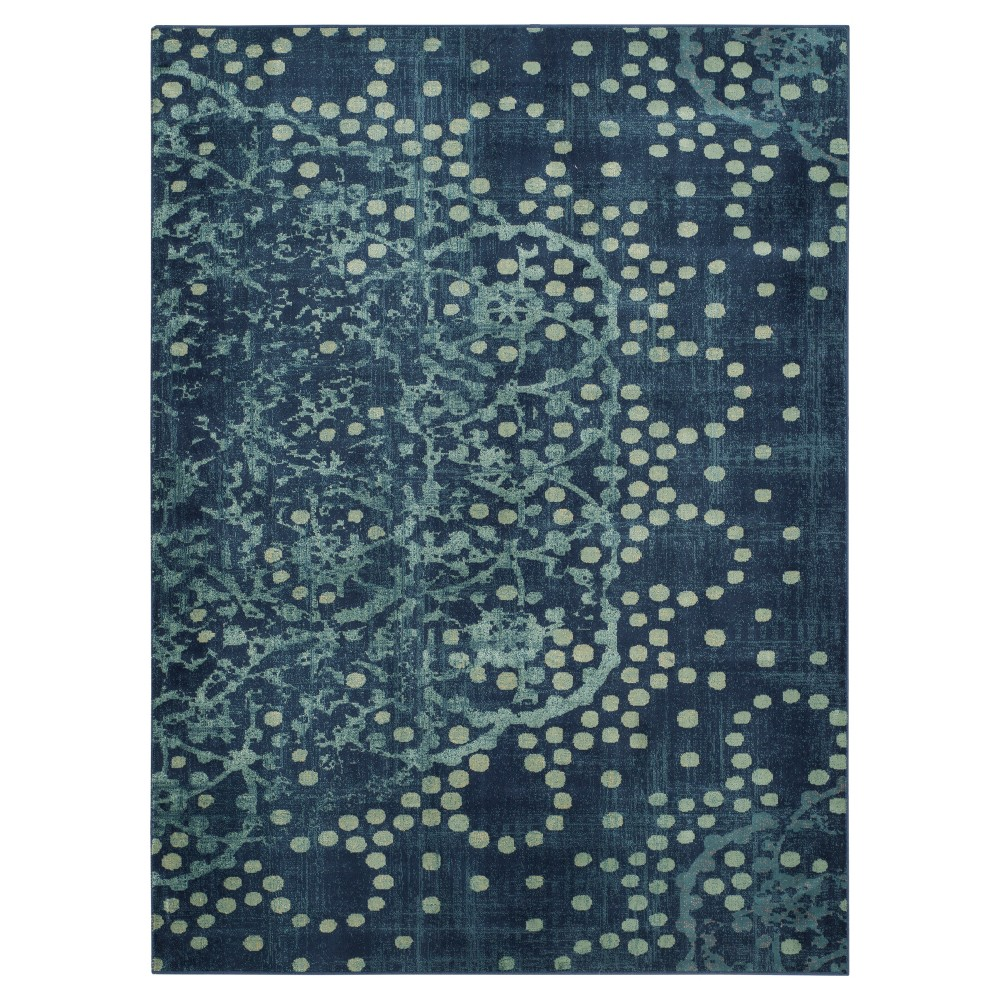 Constellation Vintage Rug - Blue/Multi - (5'3