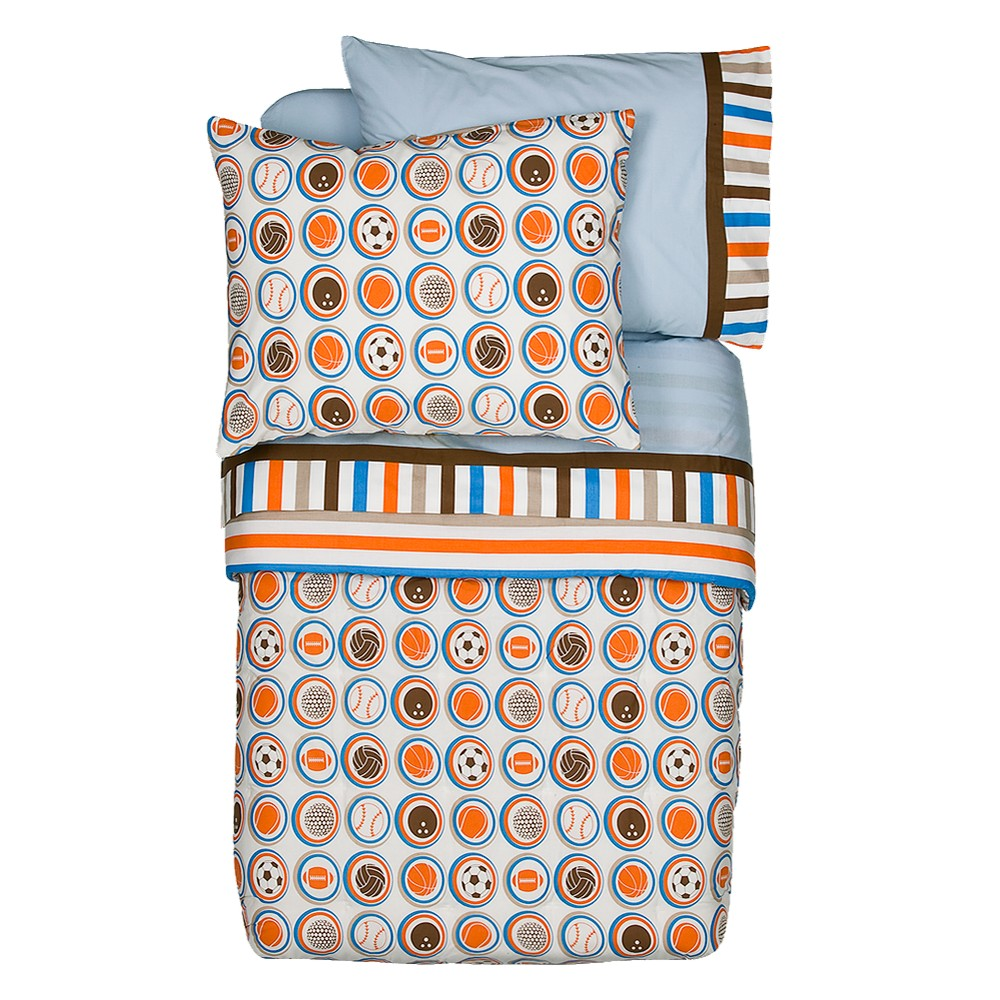 Image of Bacati Toddler Bedding Set - 4pc - Mod Sports