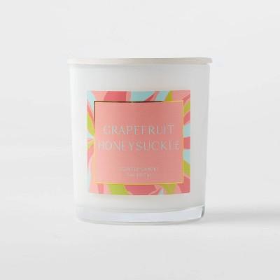 5oz Glass Jar Grapefruit Honeysuckle Candle - Opalhouse™