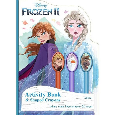 Frozen 2 Activity Book With Crayons - Target Exclusive Edition
