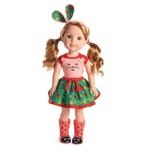 American Girl Wellie Wishers - Willa Doll - image 1 of 7
