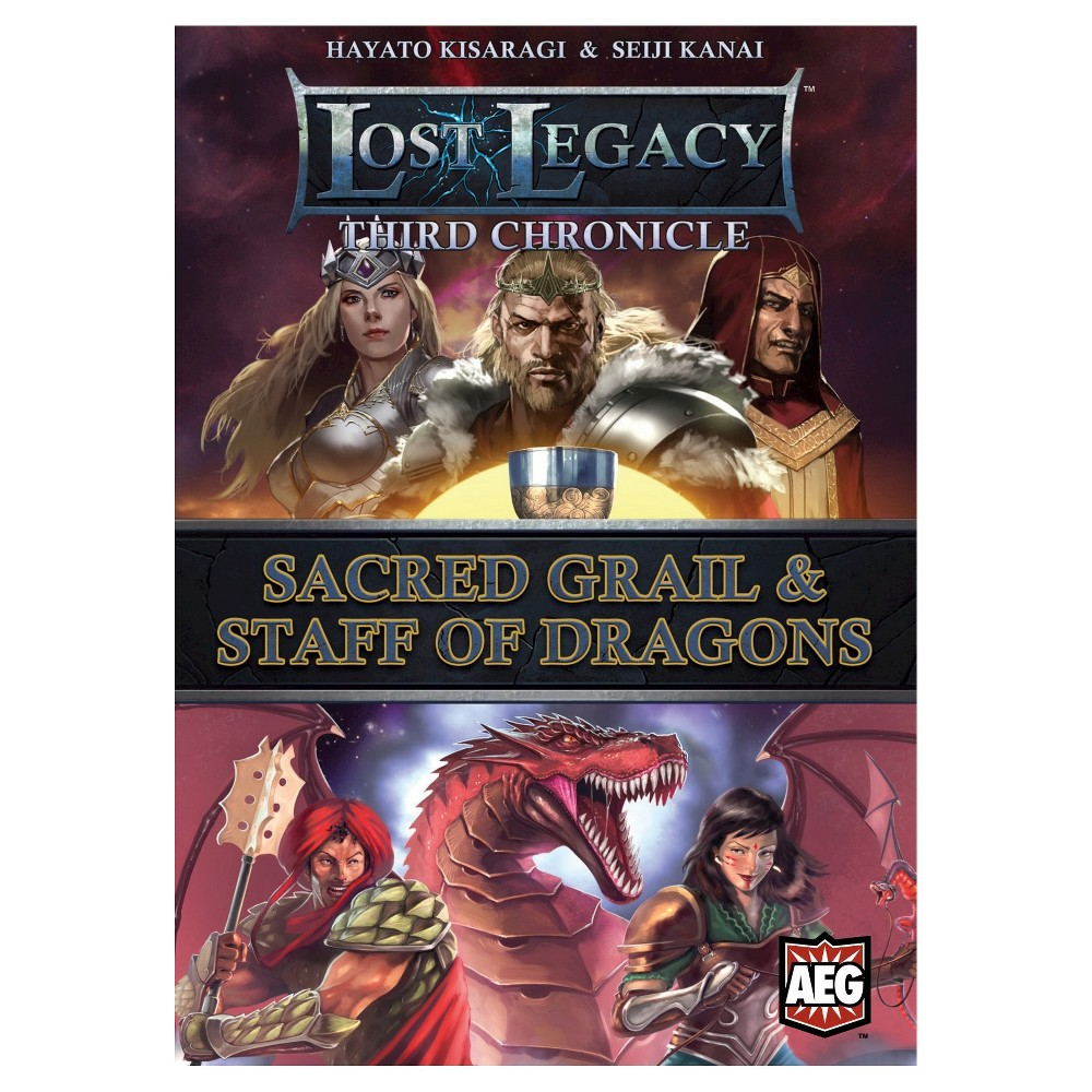 Image of Lost Legacy Third Chronicle Sacred Grail Staff of Dragons Board Game