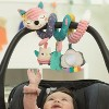 Infantino Go Gaga! Spiral Car Seat Activty Toy - Pink - image 2 of 4