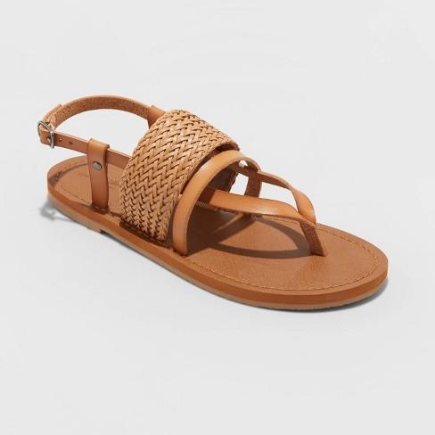Women's Senora Ankle Strap Thong Sandals - Universal Thread™ - image 1 of 3