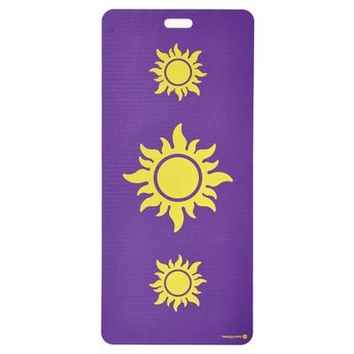 Merrithew 3 Suns Kids' Eco Yoga Mat - Purple (4mm)