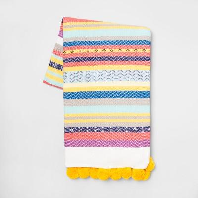 Cotton Woven Global Stripe Throw Blanket - Opalhouse™