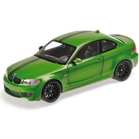 2011 BMW 1 M Coupe Java Green Limited Edition to 504pcs 1/18 Diecast Model Car by Minichamps - image 1 of 1