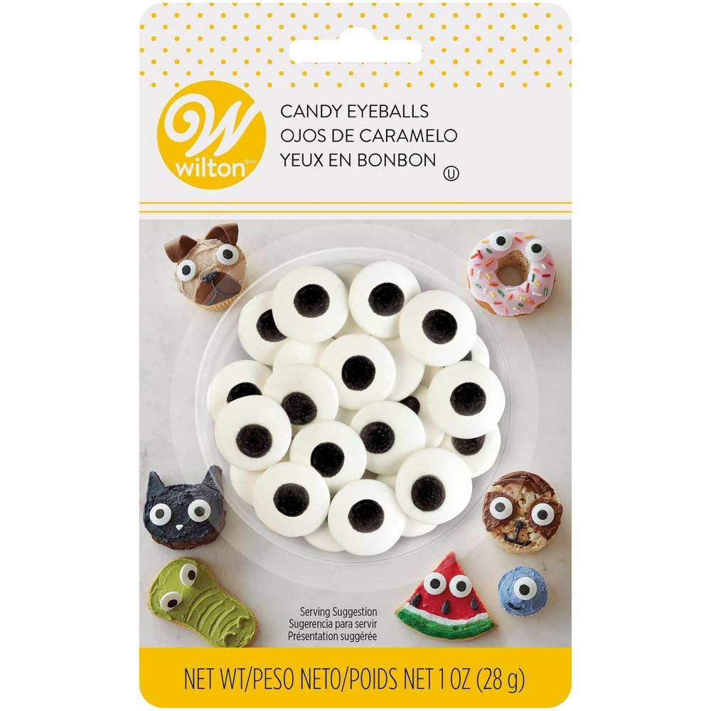 Set Of 3 Candy Decorations 50/Pkg-White Eyeballs Home, Furniture & DIY