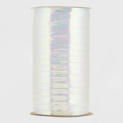 Iridescent Curl Ribbon White - Spritz™