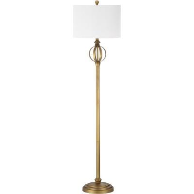 Garden Sphere Mid Century Modern Floor Lamp - Safavieh (Lamp Includes Energy Efficient Light Bulb)