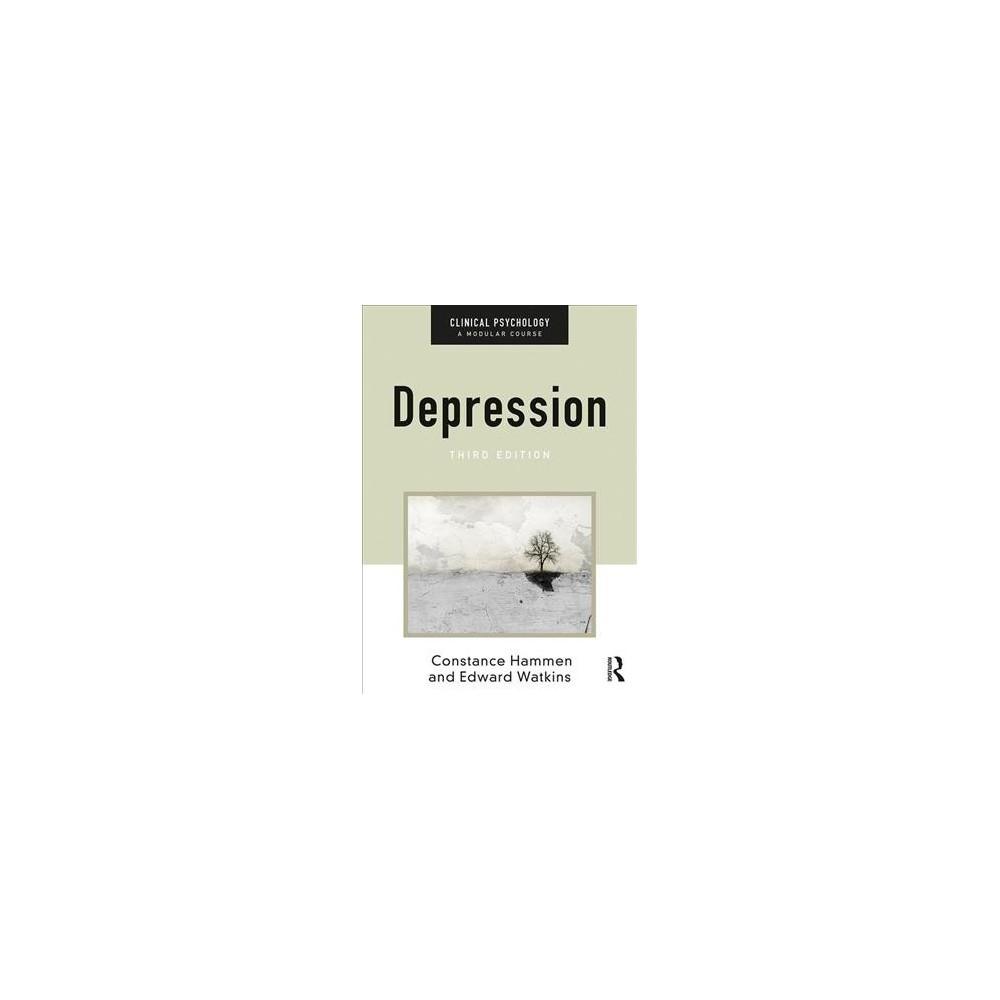 Depression - by Constance Hammen & Edward Watkins (Paperback)