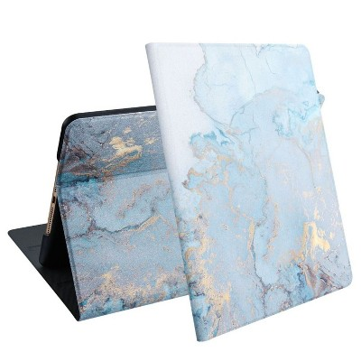 """For Apple iPad 10.2"""" (2019) Case, by Valor MyJacket Marble Stand Folio Flip Leather compatible with Apple iPad 10.2"""" (2019)"""