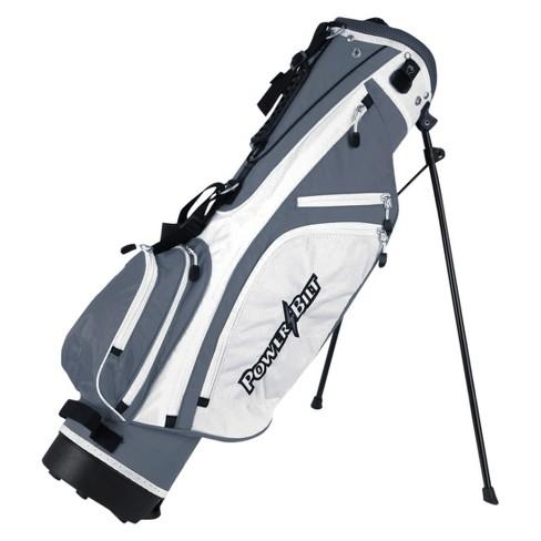 Powerbilt  9-12 Junior Stand Bag Silver - image 1 of 1