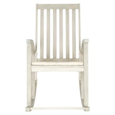 Lugano Wood Patio Rocking Chair - Safavieh®