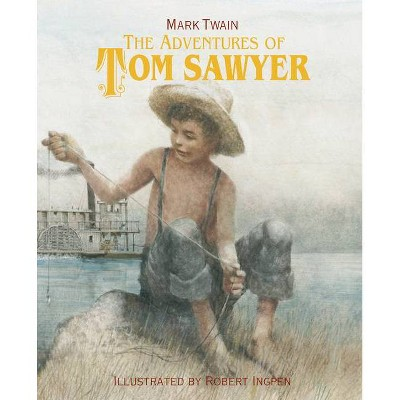 The Adventures of Tom Sawyer - by  Mark Twain (Hardcover)