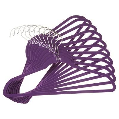 10pk Huggable Hanger - Purple