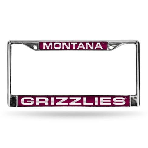 NCAA Montana Grizzlies Laser Chrome Frame - image 1 of 1
