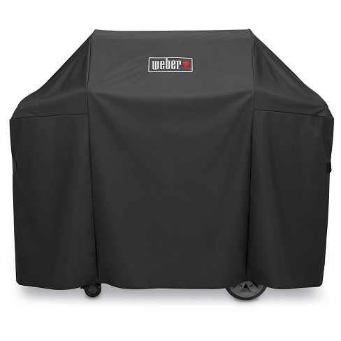 Weber® Genesis II® 3 Burner Premium Cover- Black - image 1 of 1