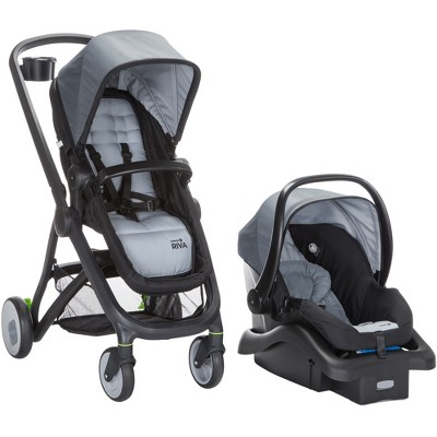 Safety 1st RIVA 6-in-1 Flex Modular Travel System - Carbon Copy