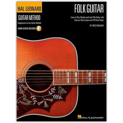 Hal Leonard Hal Leoanrd Folk Guitar Method - Learn to Play Rhythm and Lead Folk Guitar (Book/Online Audio) - image 1 of 1