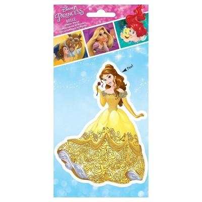 Alterego Disney Princess Belle 4 x 8 Inch Glitter Decal