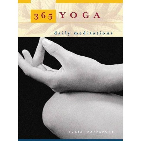 365 Yoga - by  Julie Rappaport (Paperback) - image 1 of 1