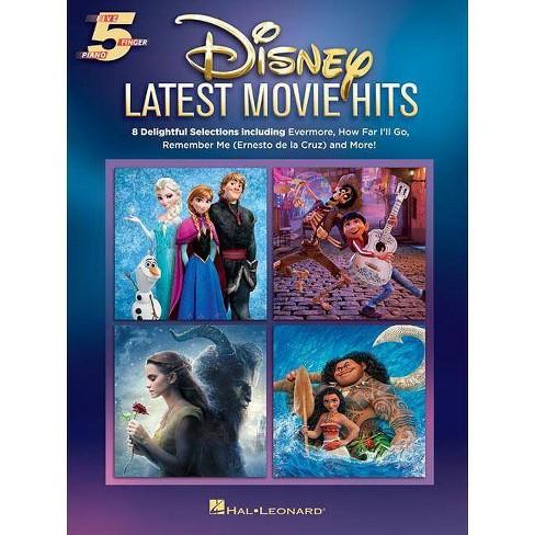Disney Latest Movie Hits - (Paperback) - image 1 of 1
