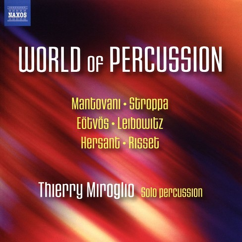 Thierry miroglio - World of percussion (CD) - image 1 of 1