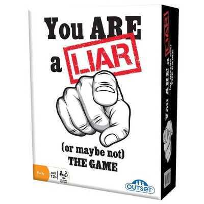 You Are A Liar Card Game