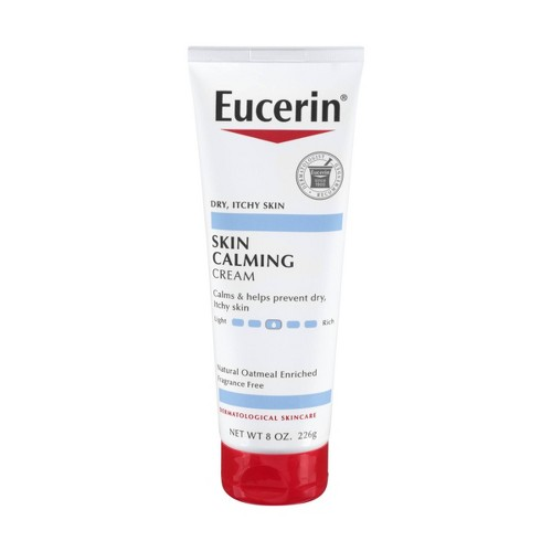Eucerin Skin Calming Cream Enriched with Natural Oatmeal - 8oz