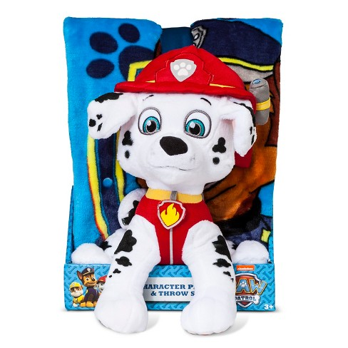 "Pillow And Throw Set Paw Patrol 40X50"" MULTI - image 1 of 2"
