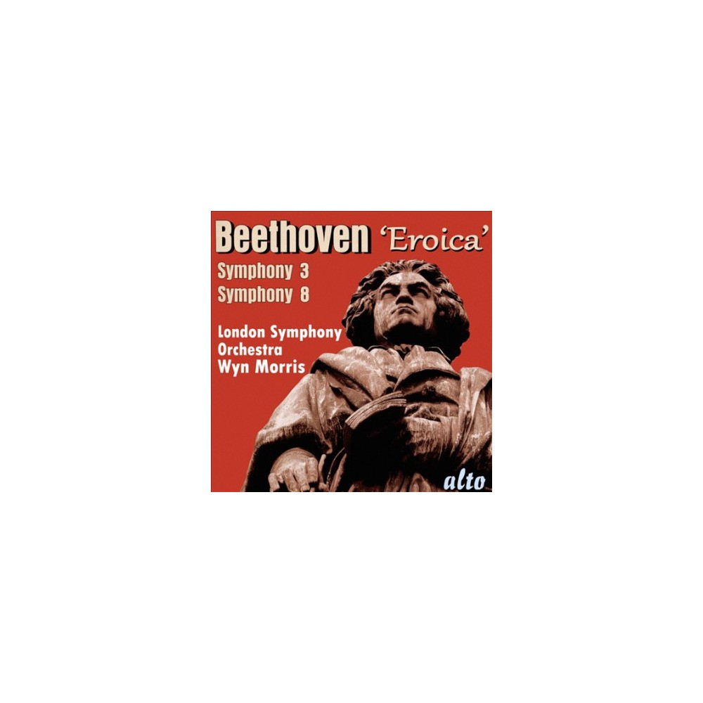 London Symphony Orch - Beethoven:Sym No 3 Eroica & No 93 (CD)