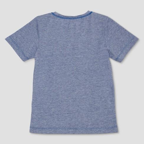 839f864dd94b Toddler Boys' Well Worn Say Yay Short Sleeve T-Shirt - Blue : Target