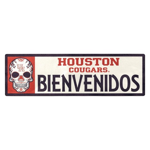 NCAA Houston Cougars Outdoor Bienvenidos Step Decal - image 1 of 2