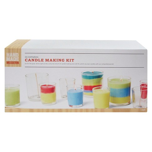 Hand Made Modern Soy Candle Making Kit