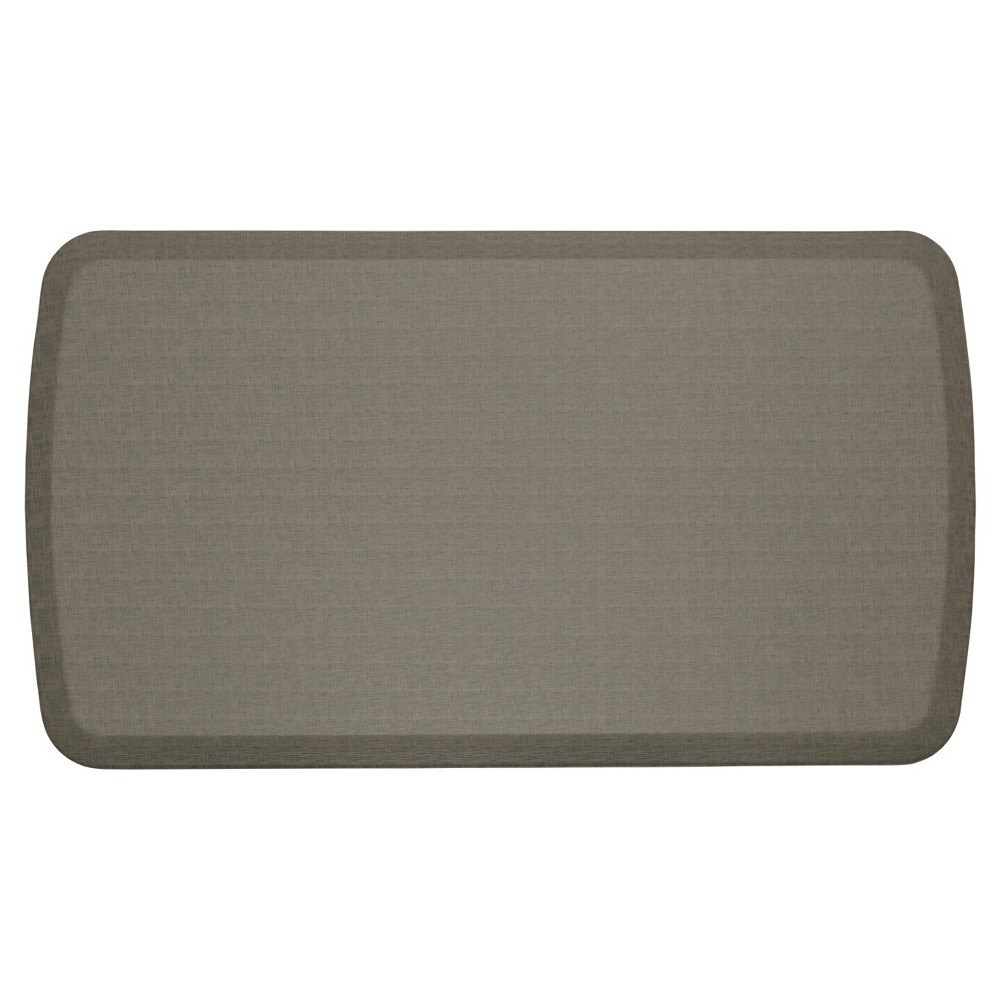"""Image of """"Gelpro Elite Linen Comfort Kitchen Mat - Granite Gray (20""""""""X36""""""""), Size: 1'8""""""""X3'"""""""