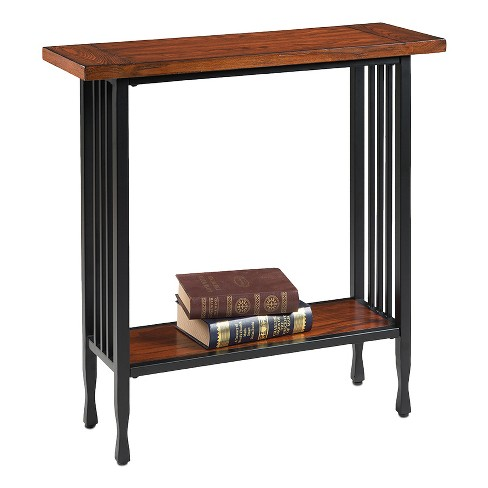 Ironcraft Hall Stand - Mission Oak - Leick Home - image 1 of 2