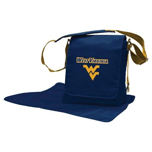 NCAA West Virginia Mountaineers LilFanDiaper Messenger Bag - image 1 of 4