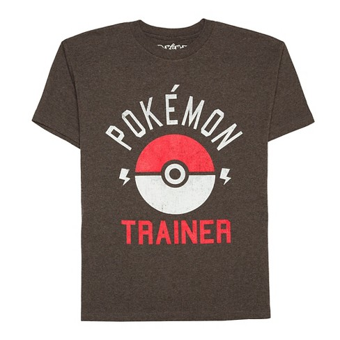abb52060 Boys' Pokmon Club Train T-Shirt - Charcoal Heather : Target