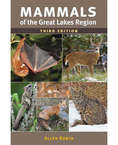 Mammals of the Great Lakes Region (Paperback) (Allen Kurta) - image 1 of 1
