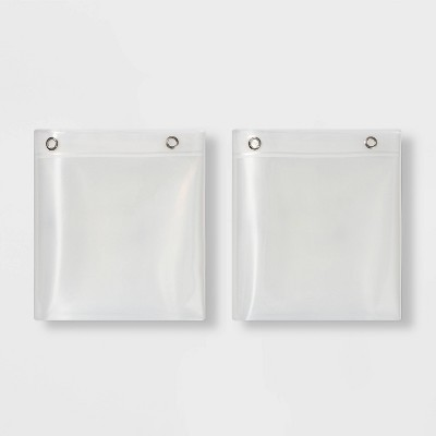 2pk PEVA Heavy Weight Shower Liner Clear - Made By Design™