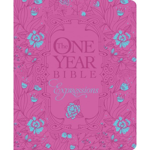 Holy Bible : The One Year Bible Creative Expressions (Deluxe) (Hardcover) - image 1 of 1