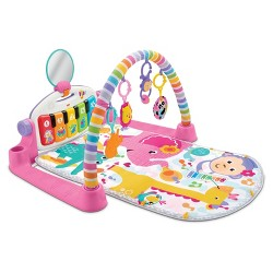 Fisher-Price Deluxe Kick & Play Piano Gym Playmat - Pink