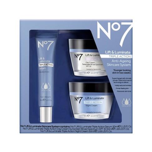 No7 Lift Luminate Triple Action Skincare System Target