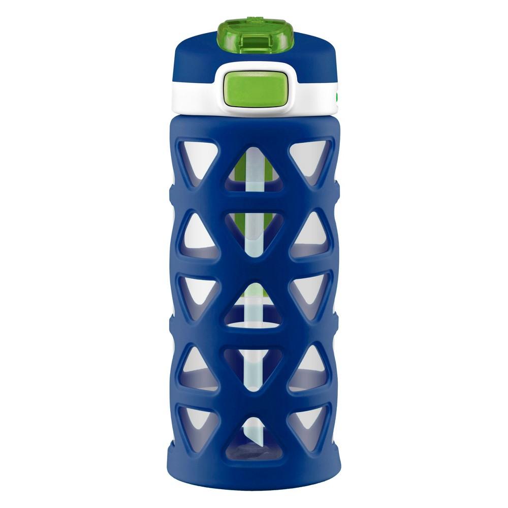 Image of Ello Luna 16oz Tritan Water Bottle - Blue