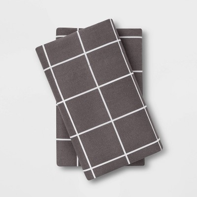 Microfiber Printed Pillowcase Set - Room Essentials™