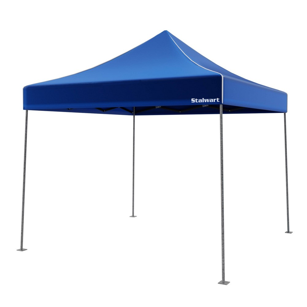 Image of Wakeman Canopy Outdoor Party Shade Tent - Blue