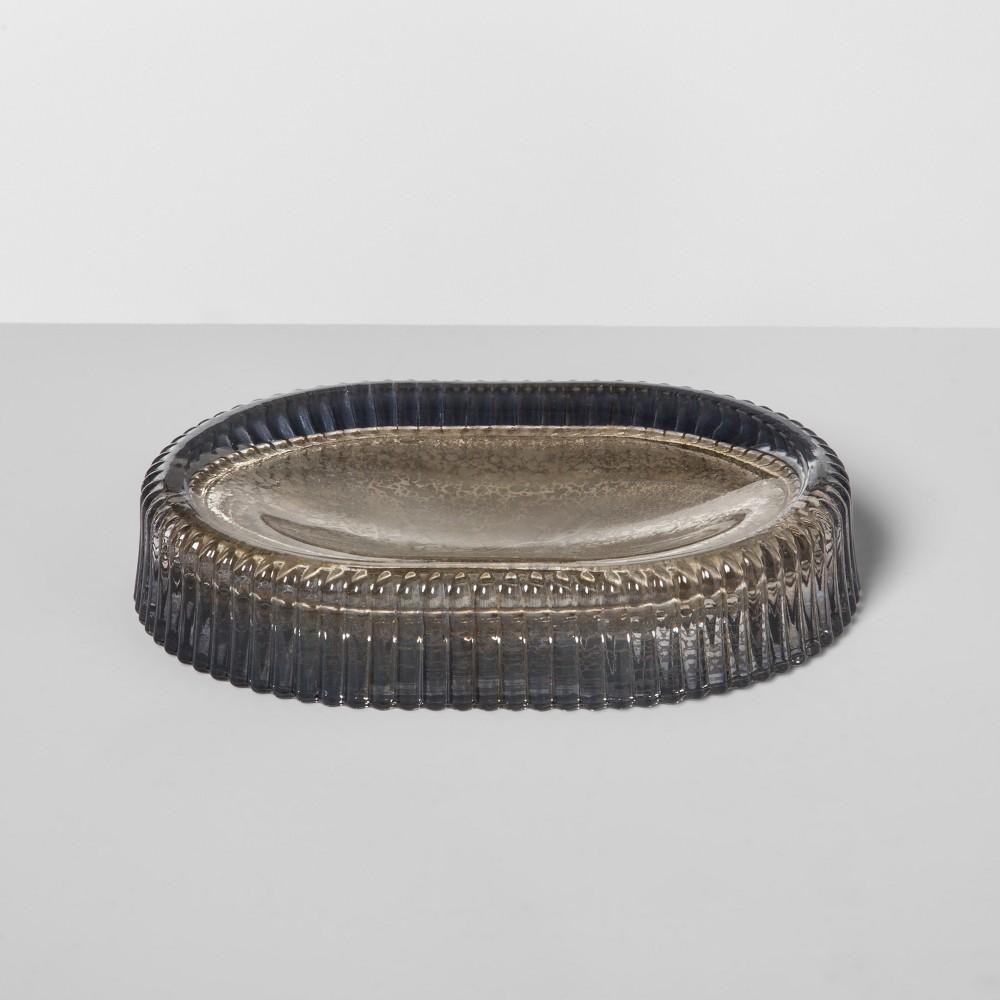Mercury Glass Soap Dish Silver - Opalhouse